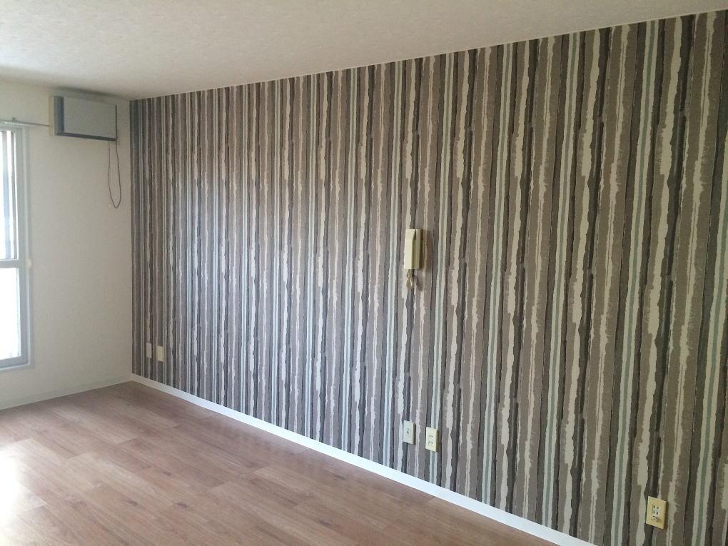 むつみパークマンション207号室のリビング