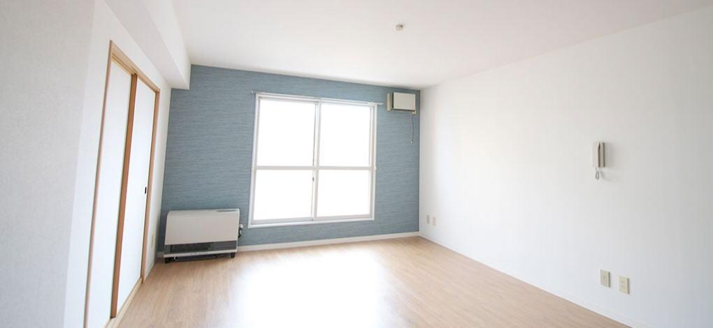 むつみパークマンション305号室のリビング