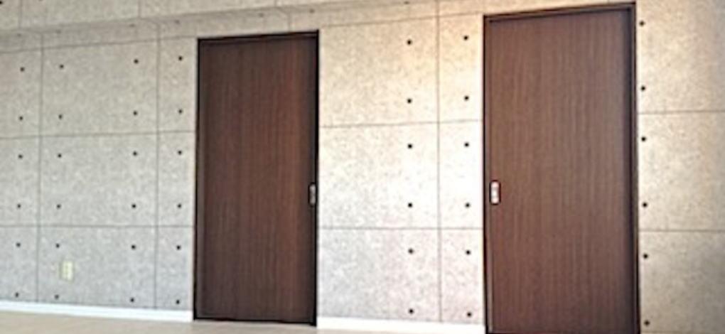 むつみパークマンション401号室のリビング