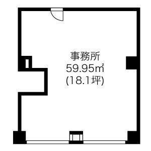 次田ビル(201)の間取り図