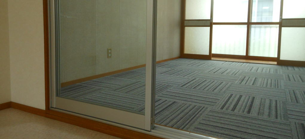 滝沢マンション(202)の防音洋室