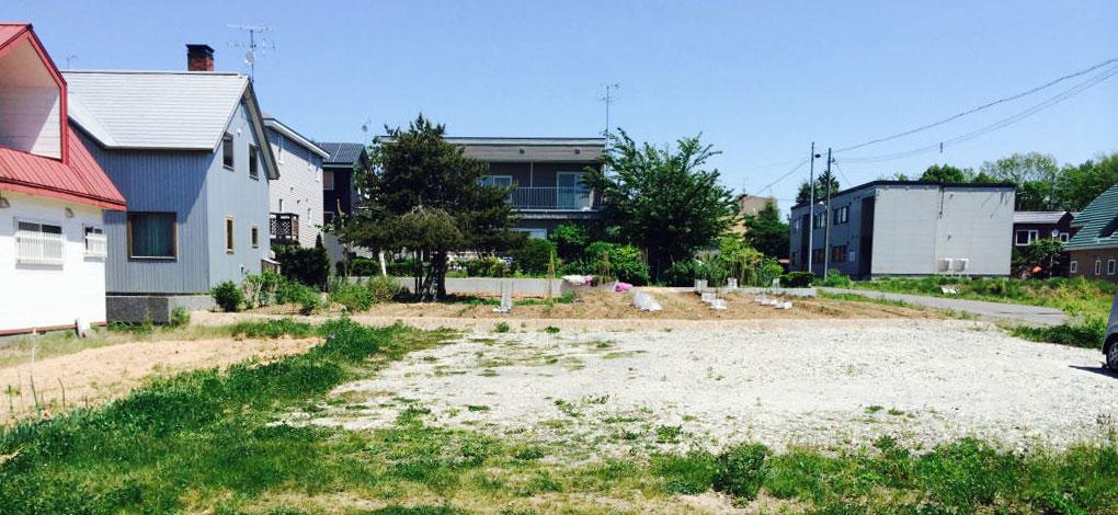 北広島市西の里の土地の外観